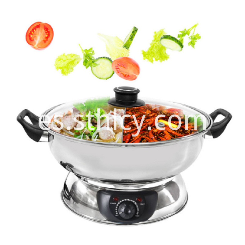 Multi-layer Bottom Stainless Steel Pot